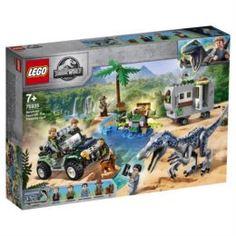 Конструкторы, пазлы Конструктор LEGO JW Поединок с бариониксом: Охота за сокровищами 75935