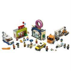 Конструкторы, пазлы Конструктор LEGO City Town Открытие магазина по продаже пончиков 60233