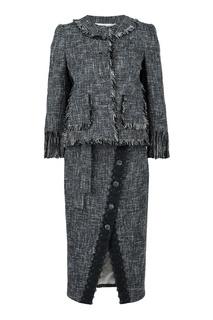 Твидовый костюм-двойка Blumarine