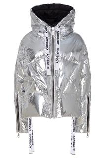 Серебряная стеганая куртка Khrisjoy