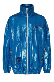 Клетчатая куртка-дождевик Off White