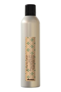 Лак средней фиксации для эластичного глянцевого стайлинга, 400 ml Davines