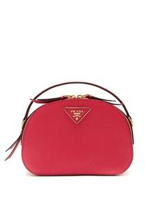 Красная сумка Odette Prada