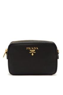 Черная сумка-кроссбоди Prada
