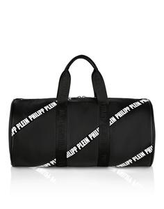 Спортивная сумка с контрастной отделкой Philipp Plein Kids