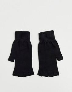 Перчатки без пальцев ASOS DESIGN - Черный