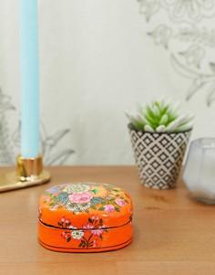 Шкатулка для хранения мелких вещей с ручным цветочным рисунком Ian Snow - Мульти