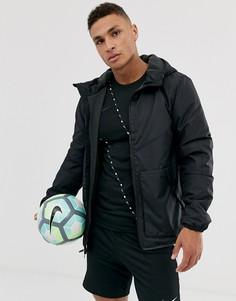 Черная спортивная куртка Nike Football - Черный