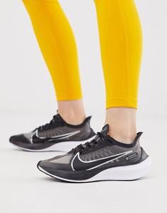 Черные кроссовки Nike Running zoom gravity - Черный