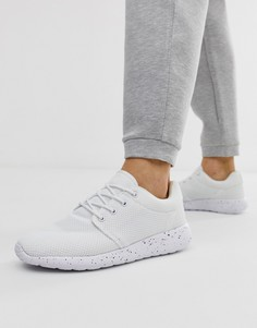 Белые кроссовки на шнуровке Loyalty and Faith - Белый