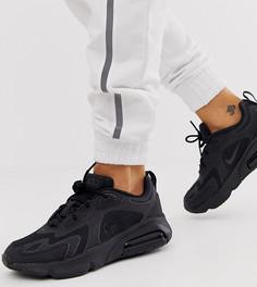 Черные кроссовки Nike Air Max 200 - Черный