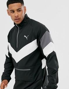 Черная складываемая куртка Puma - Training reactive - Черный