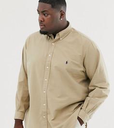 Оксфордская рубашка на пуговицах классического кроя с логотипом Ralph Lauren Big & Tall - Рыжий