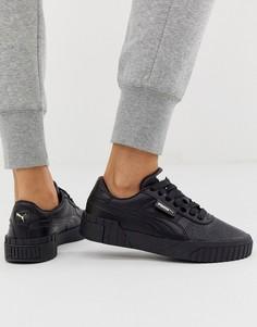 Черные кроссовки Puma Cali - Черный