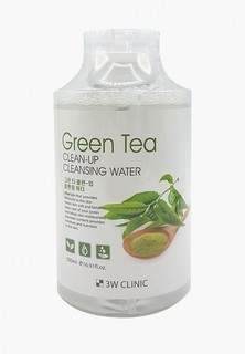 Мицеллярная вода 3w Clinic с экстрактом зеленого чая, 500 мл