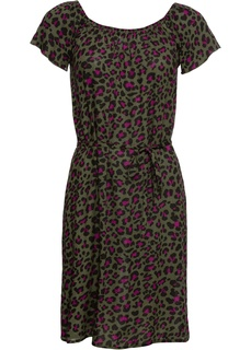 Короткие платья Платье с открытыми плечами Bonprix