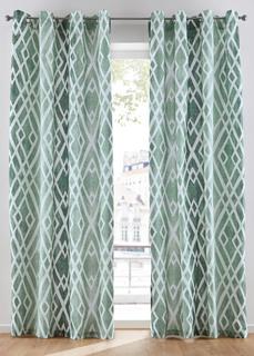 Плотные шторы Штора с графическим принтом (1 шт.) Bonprix