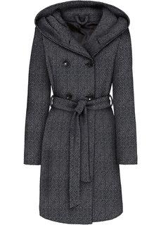 Пальто Полупальто с добавлением шерсти (5%) Bonprix