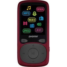 MP3 плеер Digma B4 8Gb red