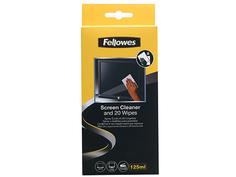 Чистящий набор Fellowes (спрей + салфетки) FS-99701 для экранов и оптики