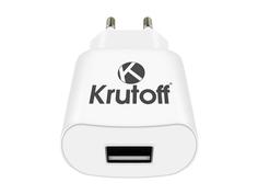Зарядное устройство Krutoff CH-01 1xUSB 1A 02187