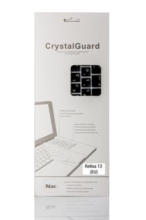 Аксессуар BTA CrystalGuard (EU) Black BTA-13-1302 Накладка на клавиатуру для ноутбука MacBook Retina 13