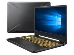 Ноутбук ASUS FX505DT-AL239T 90NR02D1-M04860 (AMD Ryzen 7-3750H 2.3GHz/16384Mb/1000Gb + 512Gb SSD/No ODD/nVidia GeForce GTX 1650 4096Mb/Wi-Fi/Cam/15.6/1920x1080/Windows 10 64-bit)