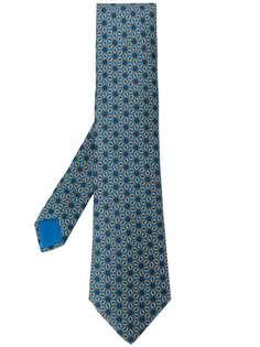 Hermès Pre-Owned галстук 2000-х годов с принтом