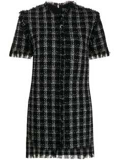 MSGM твидовое платье мини