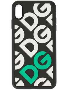Dolce & Gabbana чехол для iPhone XS Max с логотипом DG