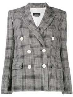 Isabel Marant пиджак в клетку Prince of Wales