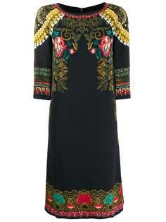 Etro платье-трапеция с принтом