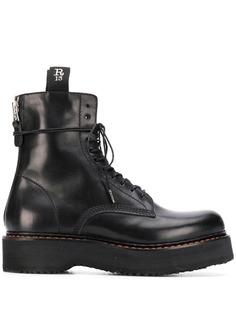 R13 ботинки в стиле милитари