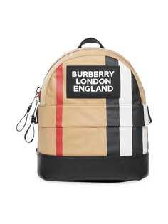 Burberry Kids рюкзак в полоску Icon Stripe с логотипом
