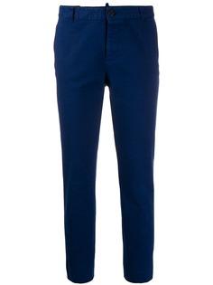 Dsquared2 укороченные брюки кроя слим