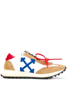 Off-White кроссовки с логотипом