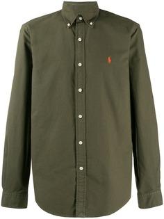 Ralph Lauren рубашка с вышитым логотипом