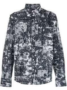 Michael Kors рубашка с геометричным принтом