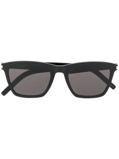 Saint Laurent Eyewear солнцезащитные очки в квадратной оправе