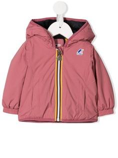 K Way Kids куртка-бомбер с капюшоном