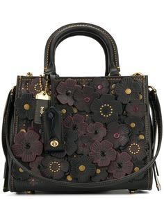 Coach сумка с чайными розами Rogue 25