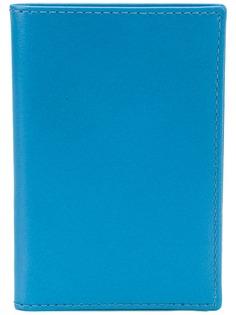 Comme Des Garçons Wallet бумажник дизайна колор-блок
