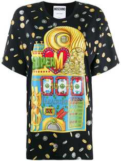 Moschino Slotmachine print T-shirt