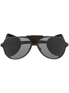 Saint Laurent Eyewear солнцезащитные очки-авиаторы