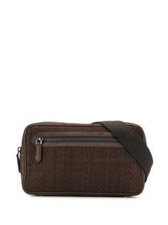 Ermenegildo Zegna классическая поясная сумка