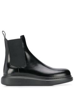 Alexander McQueen ботинки челси на платформе