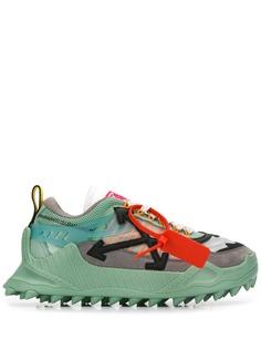 Off-White кроссовки на подошве с шипами