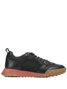 Lanvin кроссовки на сетчатой подошве