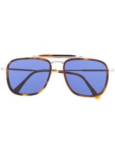 Tom Ford Eyewear солнцезащитные очки в массивной квадратной оправе