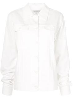 Lee Mathews джинсовая куртка свободного кроя